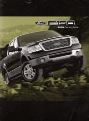 2006 ford f150 owners manual 2006 ford f150 owner s manual portfolio