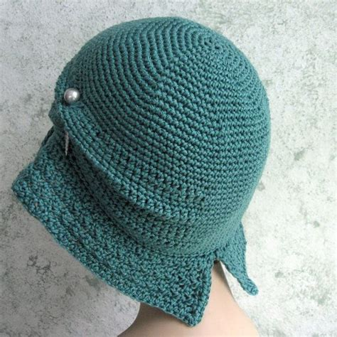 Aleta Pasmina Instan womens crochet hat pattern flapper cloche with large brim digital
