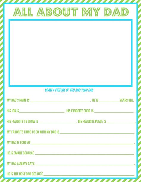 printable dad questionnaire just peachy designs free printable father s day questionnaire