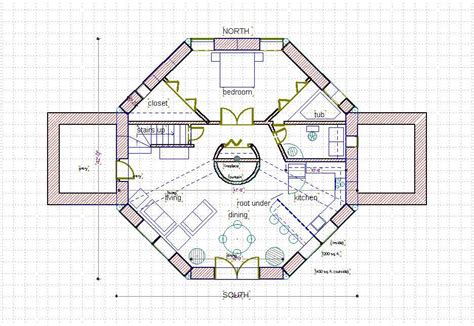 Octagon Floor Plans by Story Octagon House Plans Studio Design Best House