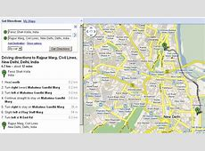 Google India Adds Driving & Walking Directions To Maps ... Mapquest Driving Distances Google