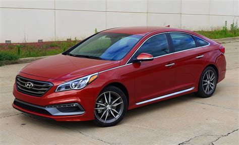 Hyundai Sonata 2015 Sport 2 0t by 2015 Hyundai Sonata Sport 2 0t Drive Photo Gallery