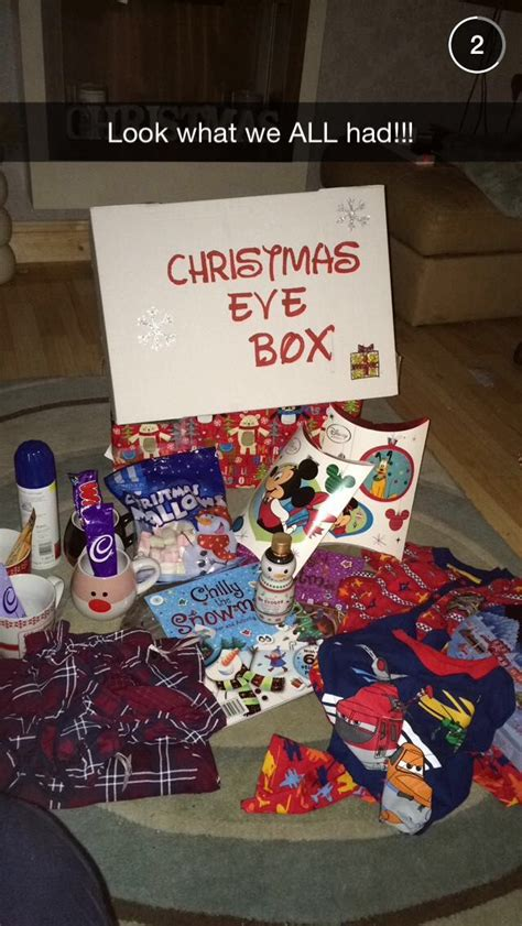 ideas xmas eve box our christmas eve box christmas ideas chris