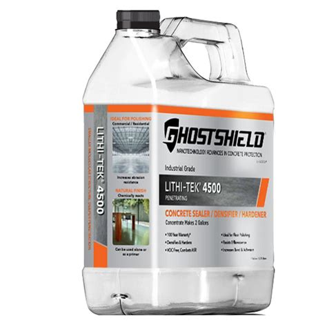 ghostshield 1 gal invisible penetrating concrete sealer