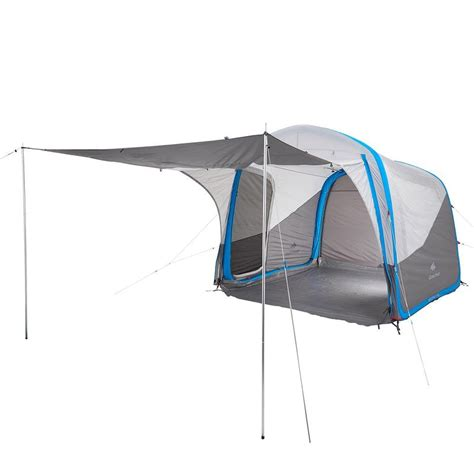 The Awning Man Air Seconds Base Xl Inflatable Camping Shelter Decathlon