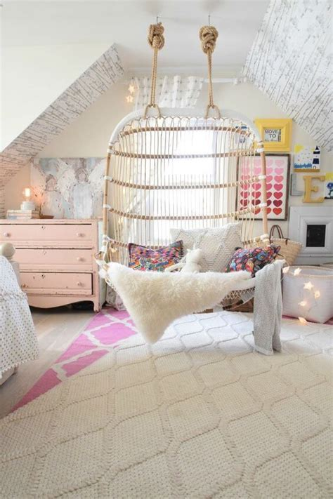 Diy Hanging Ls For Bedroom by Best 25 Hanging Chair Ideas On Bedroom Swing