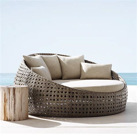 Restoration Hardware Chair Cushions by St Martins Daybed Per Textured Linen Weave Sand
