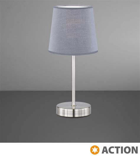 Silver Grey L Shades Uk by Cesena 1 Light Switched Table L Silver With