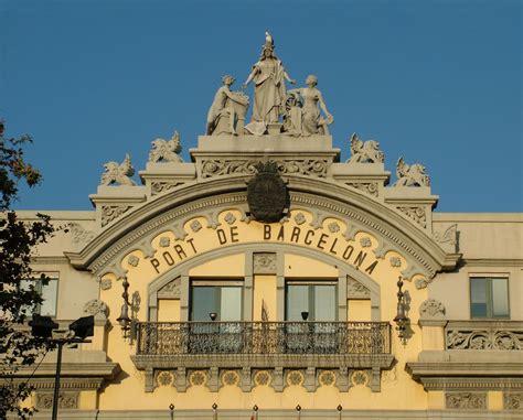 barcelona to porto file palazzo porto di barcellona jpg
