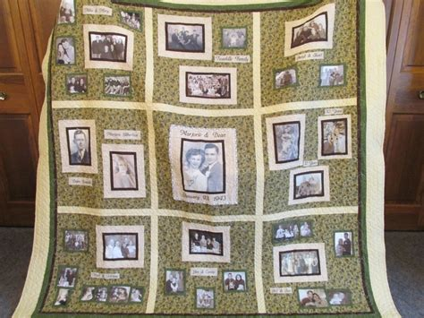 Photo Memory Quilt Ideas by Photo Memory Quilt Designs Memory Photo Quilt I Made