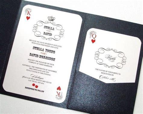 vegas wedding card best 25 vegas wedding invitations ideas on