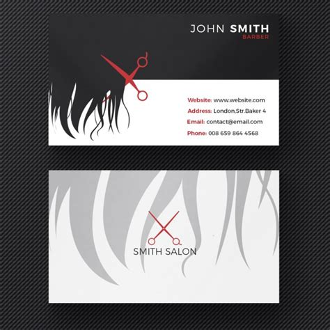 Hair Salon Business Cards
