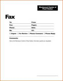 Cover Letter For Faxing by Fax Cover Letter Openoffice Template