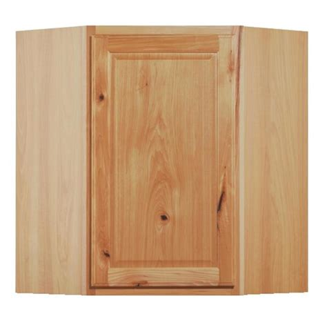 corner wall cabinet kitchen shop kitchen classics 30 in x 24 in x 12 in denver hickory corner kitchen wall cabinet at lowes com