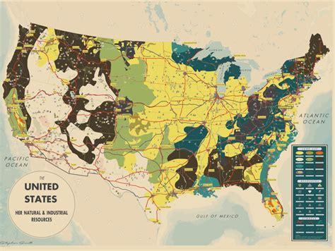 america resources map wednesdaywisdom and amazing cartograhy awesome retro