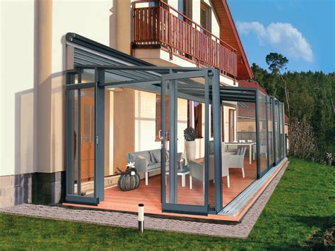 terrace enclosure corso glass modern patio other