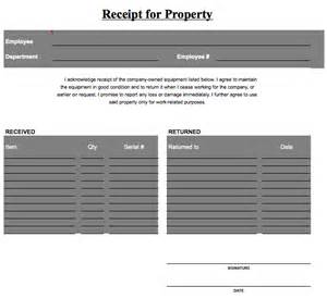property template property receipt template printable templates