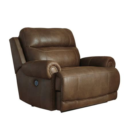 austere power reclining sofa ashley austere faux leather power zero wall wide recliner