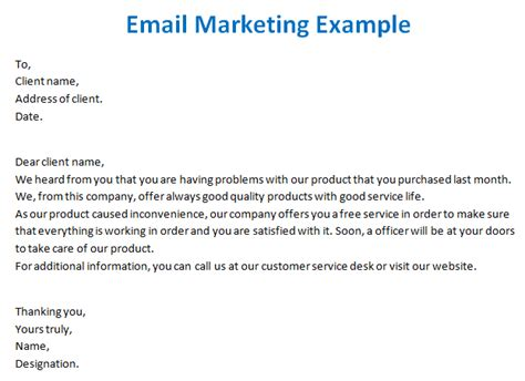 marketing email template email marketing templates
