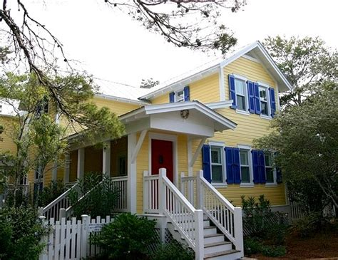 Yellow Houses With White Trim Shutters 2016