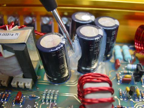 how to check capacitor leakage image gallery leaking capacitor