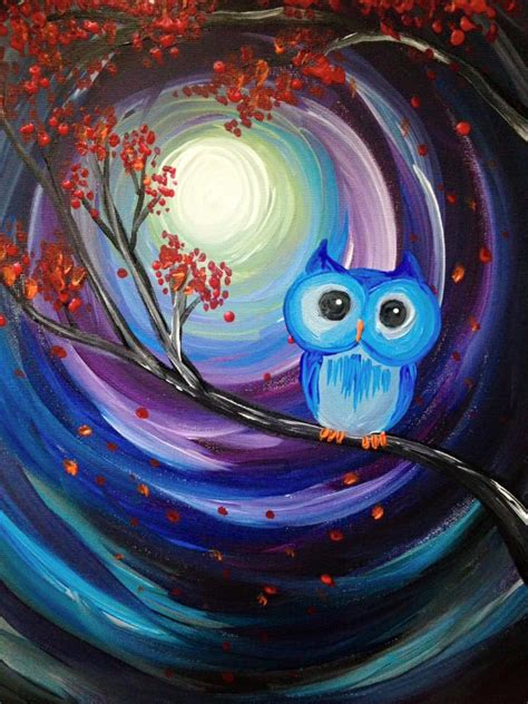 Learn To Paint Owl
