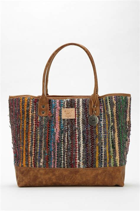 rag tote bag pattern rag rug tote bag pattern microfiber travel bag