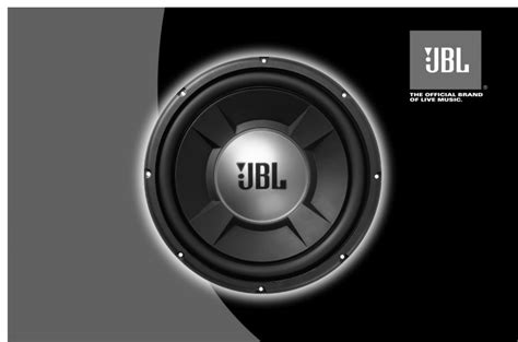 Speaker Jbl Gto1204d jbl car speaker gto1002d user guide manualsonline