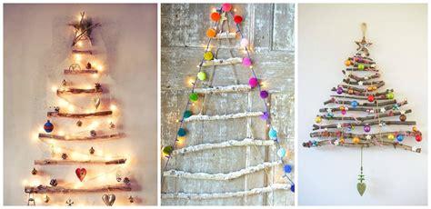 alberi di natale fatti in casa albero di natale alternativo 5 idee molto semplici