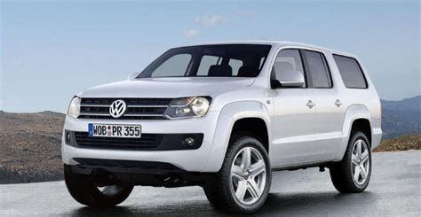 volkswagen 7 passenger suv volkswagen confirms it is developing an amarok suv