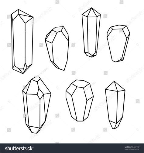 Geometric Gems by Set Geometric Crystals Geometric Shapes Geometric Stock