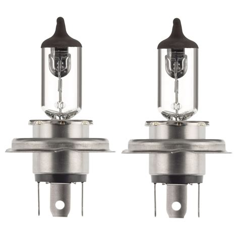 Lu Philips H4 55 60 Watt 2x h4 halogen 60 55w 12v headlight low high beam car bulbs