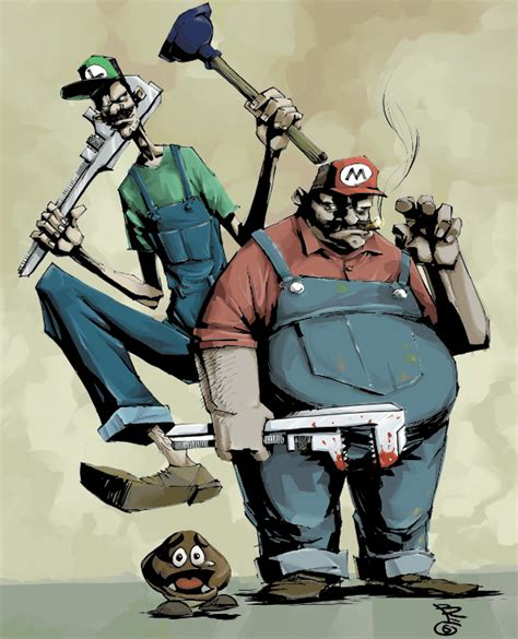 Kaos Mario Bros Artwork 20 20 best mario artworks