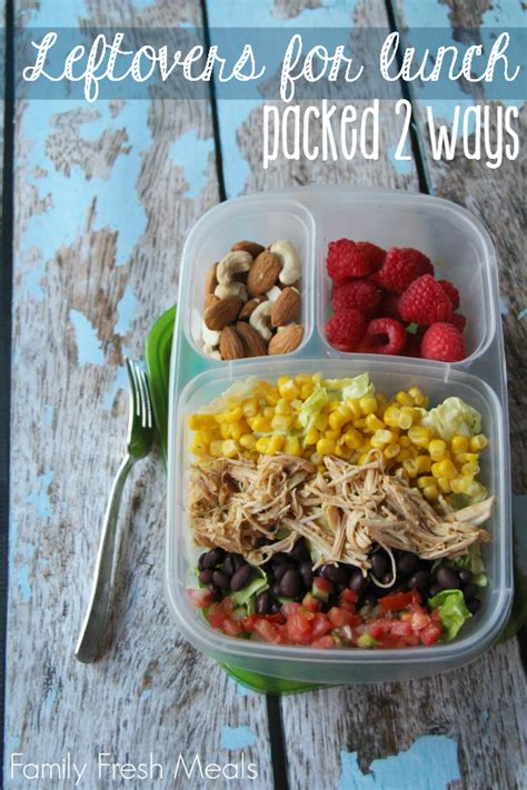 Clever Kitchen Ideas packed lunch ideas not just for kids
