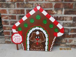outdoor gingerbread house decorations gingerbread house outdoor wood by