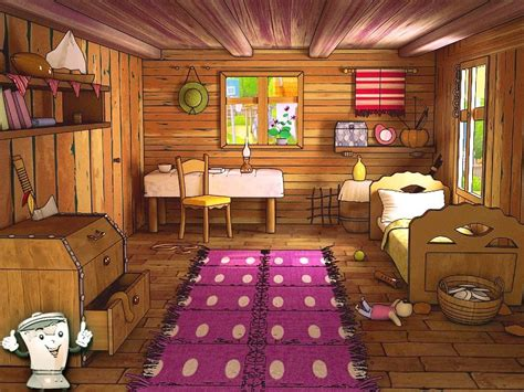 Home Design 3d Living Room by Toon Room Cartoon Max