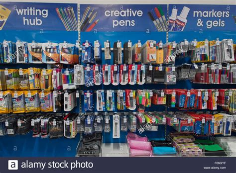 stationary section stationary for sale in a back to school section of a