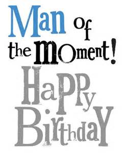 Wedding Gift Quirky Man Of The Moment Birthday Card The Bright Side