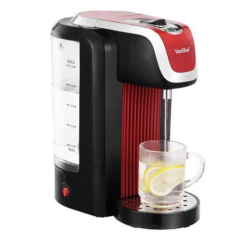 instant water dispenser vonshef instant water dispenser kettle 2 5 litre capacity ebay