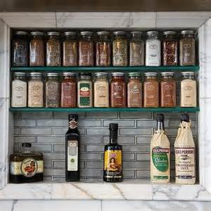 Recessed Spice Rack recessed spice rack design decor photos pictures ideas inspiration paint colors and remodel