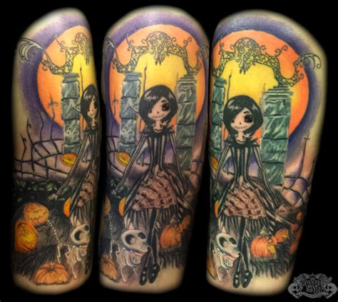 tattoo nightmares where is the shop nightmare before xmas by state of art tattoo on deviantart