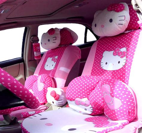hello seat covers set 29 pcs styling universal hello car seat