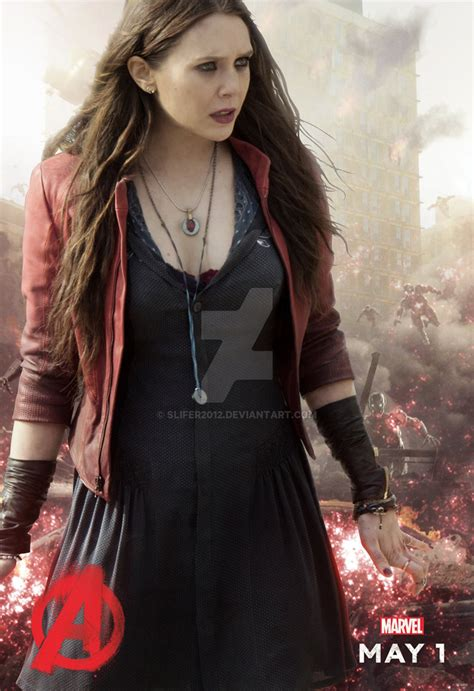Poster The Age Of Ultron Scarlet Witch Ukuran A3 scarlet witch age of ultron by slifer2012 on deviantart
