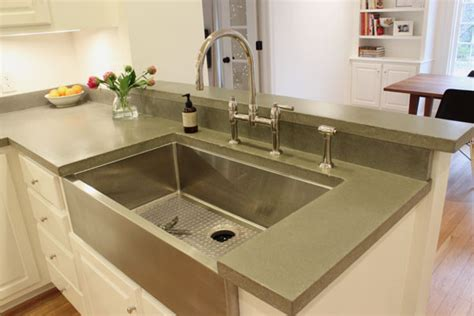 Concrete Countertops Kitchen Concrete Kitchen Countertops Home Decor And Interior Design