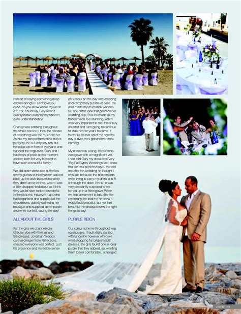 Wedding Articles In Magazines by Press Magazine Articles Wedding Photographer