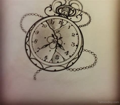 small clock tattoo clock tattoos designs pictures page 4