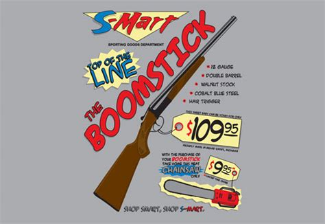 boomstick books gear army of darkness boomstick t shirt