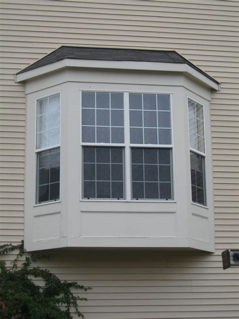 pictures of bay windows bfc inc bay window capping wood replace
