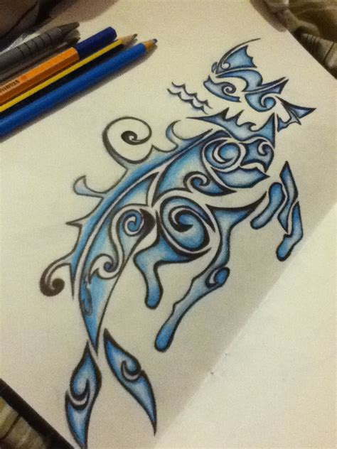 mermaid tribal tattoo 20 aquarius mermaid tattoos
