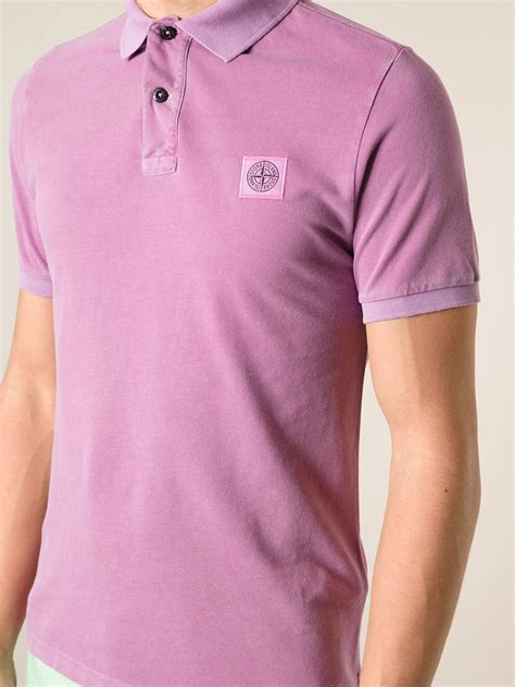 Blouse Qorry Polo Pink lyst island classic polo shirt in pink for